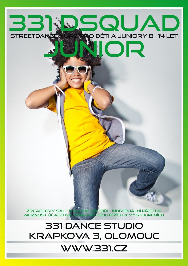 331 DSquad Junior v 331 Dance Studiu Olomouc