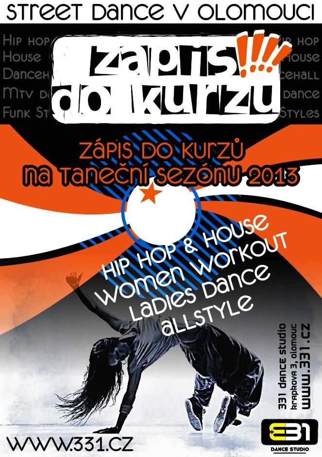 Street Dance Kurzy Olomouc 2013