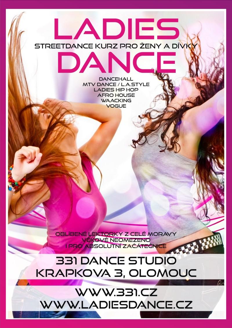 Ladies Dance v 331 Dance Studiu Olomouc