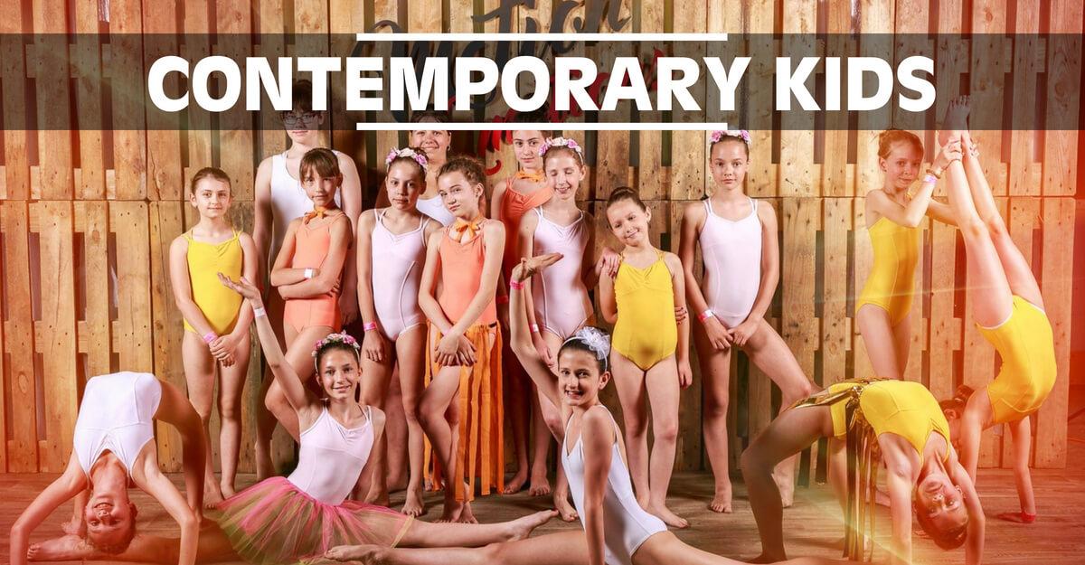 Contemporary Kids | Moderní tanec pro děti ve věku 8-11 let v 331 Dance Studiu Olomouc