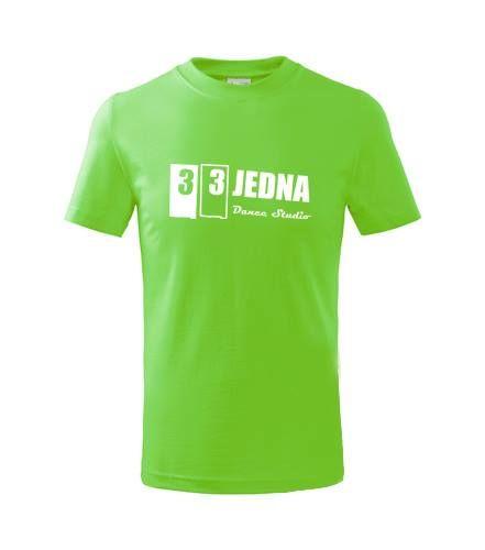 Dětské triko zelené