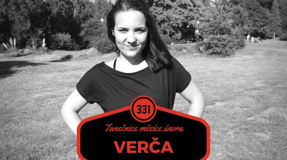 Tanečnice měsíce února Verča: Asi je na mě znát, že si tanec užívám