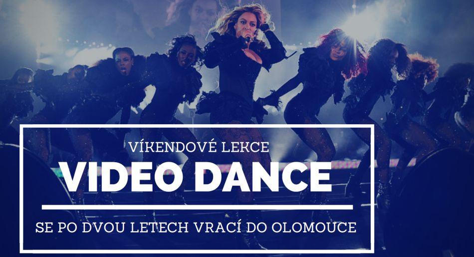 Víkendové lekce Video Dance se po dvou letech vrací do Olomouce