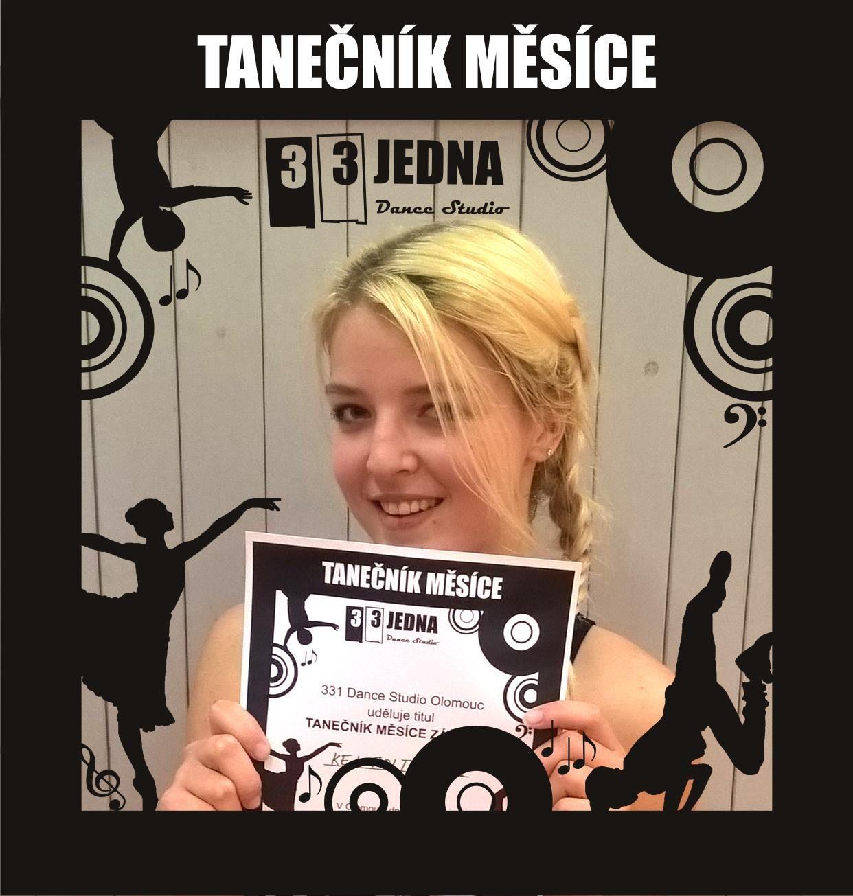Tanečník měsíce září 2016 v 331 Dance Studiu Olomouc: Kej z tanečního kurzu Streetdance Advanced