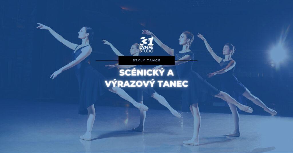 Scénický a výrazový tanec: Když tanečníci zamíří na divadelní jeviště