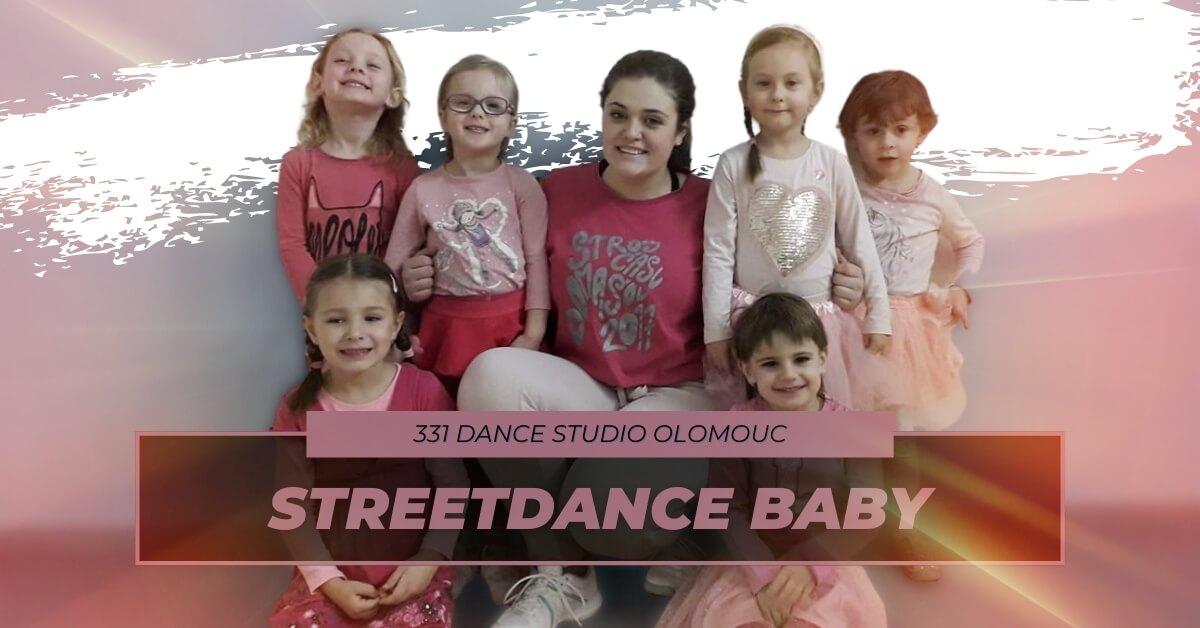 Taneční kroužek Streetdance Baby | 331 Dance Studio Olomouc