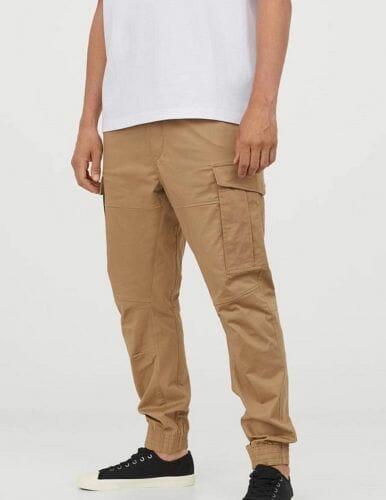 Hip hop oblečení na taneční trénink: cargo kalhoty