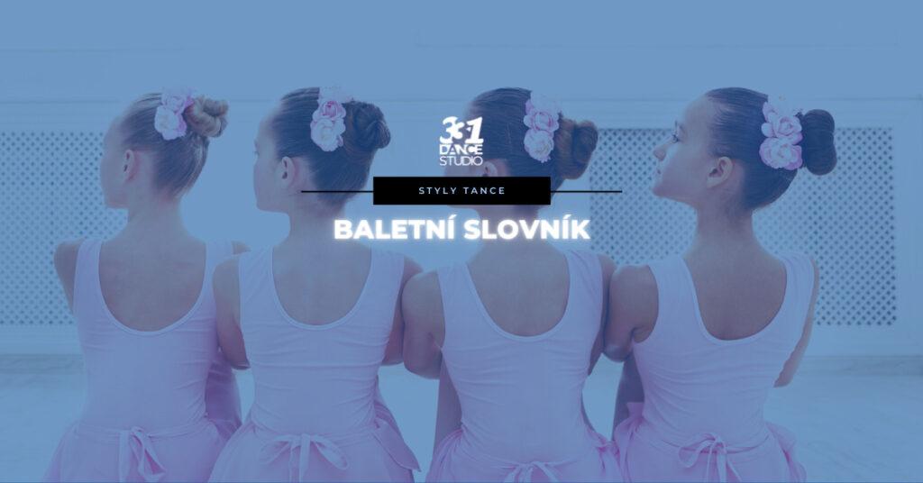 Baletní slovník: Poznejte, co znamenají různé pojmy v baletu