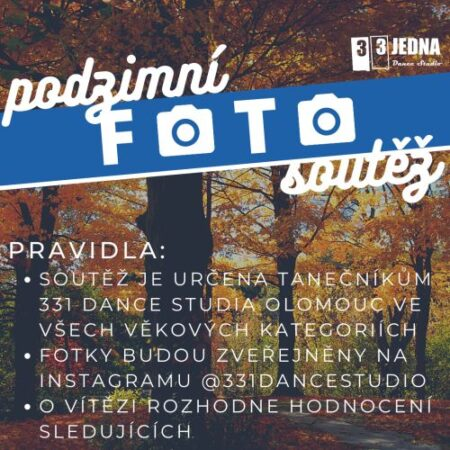 Podzimní foto soutěž | 331 Dance Studio Olomouc