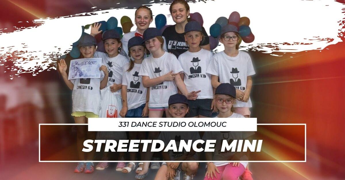 Taneční kroužek Streetdance Mini | 331 Dance Studio Olomouc