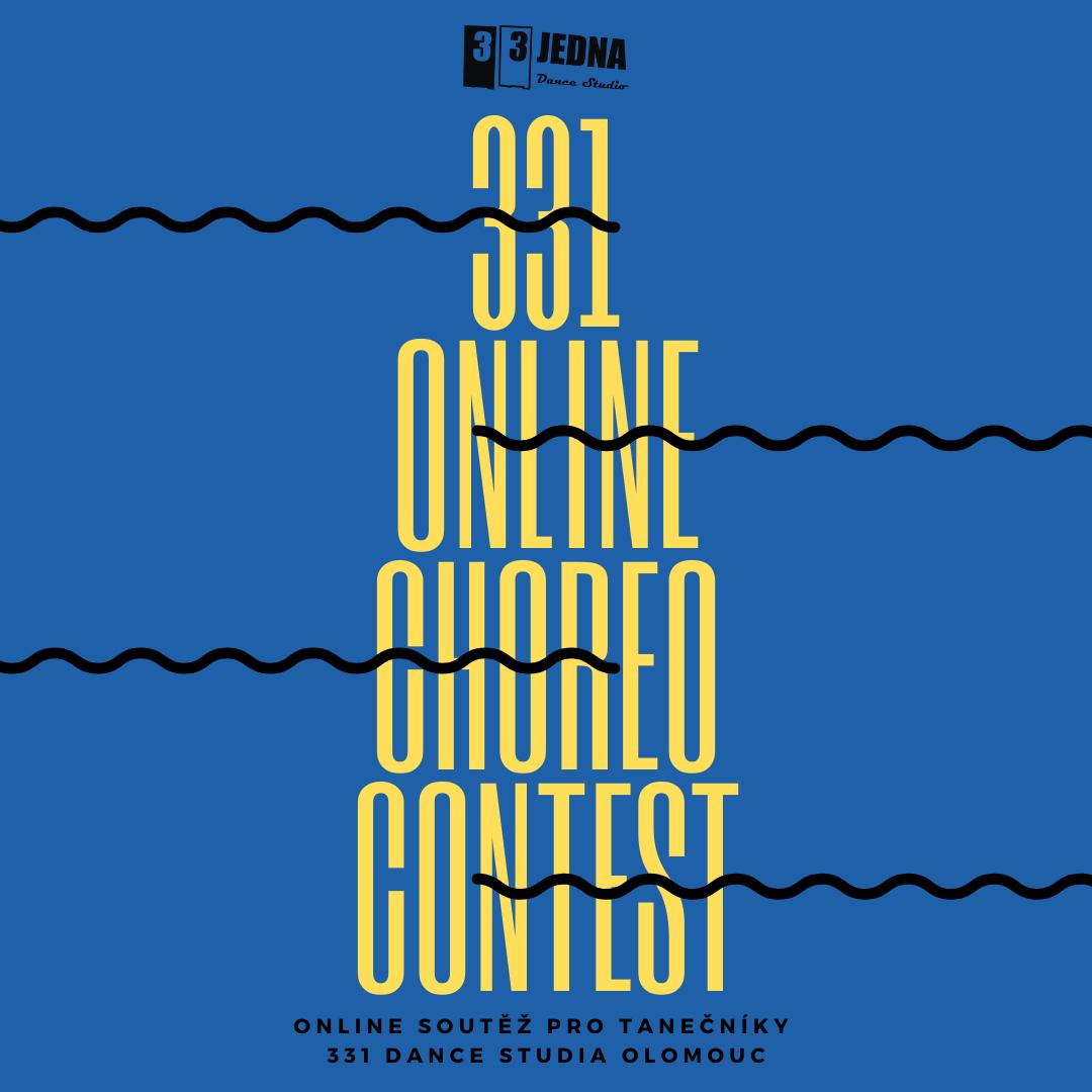 331 Online Choreo Contest: Online soutěž pro tanečníky 331 Dance Studia Olomouc