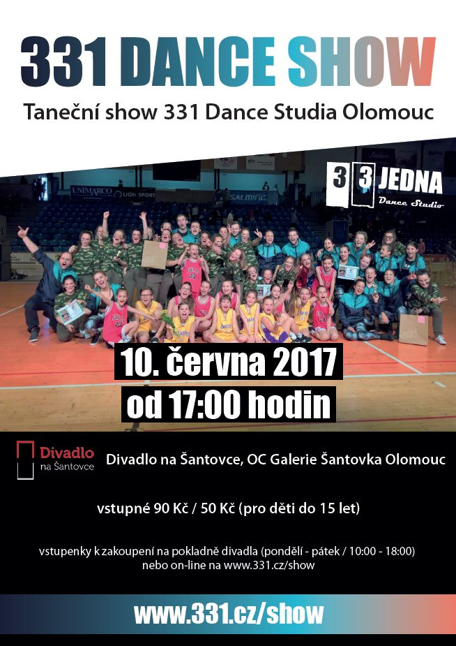 331 Dance Show | Taneční show 331 Dance Studia Olomouc