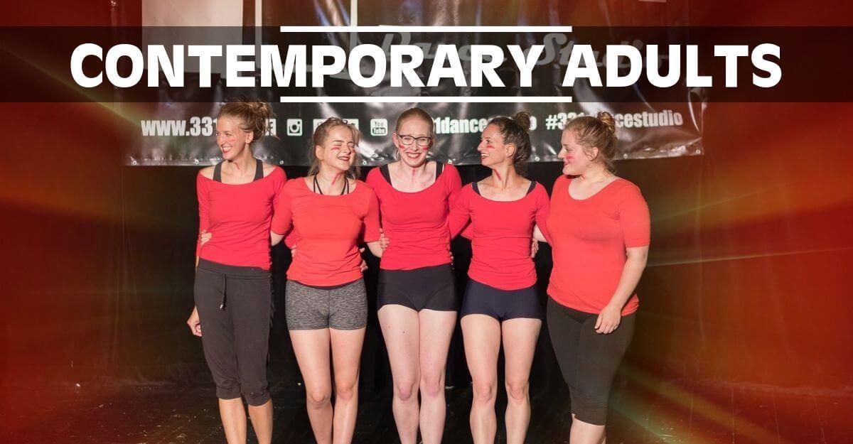 Contemporary Adults | Taneční kurz Contemporary Dance pro mládež a dospělé ve věku 17 a více let v Olomouci. Současný tanec, moderní tanec, jazz dance, balet, lyrický tanec, atd.