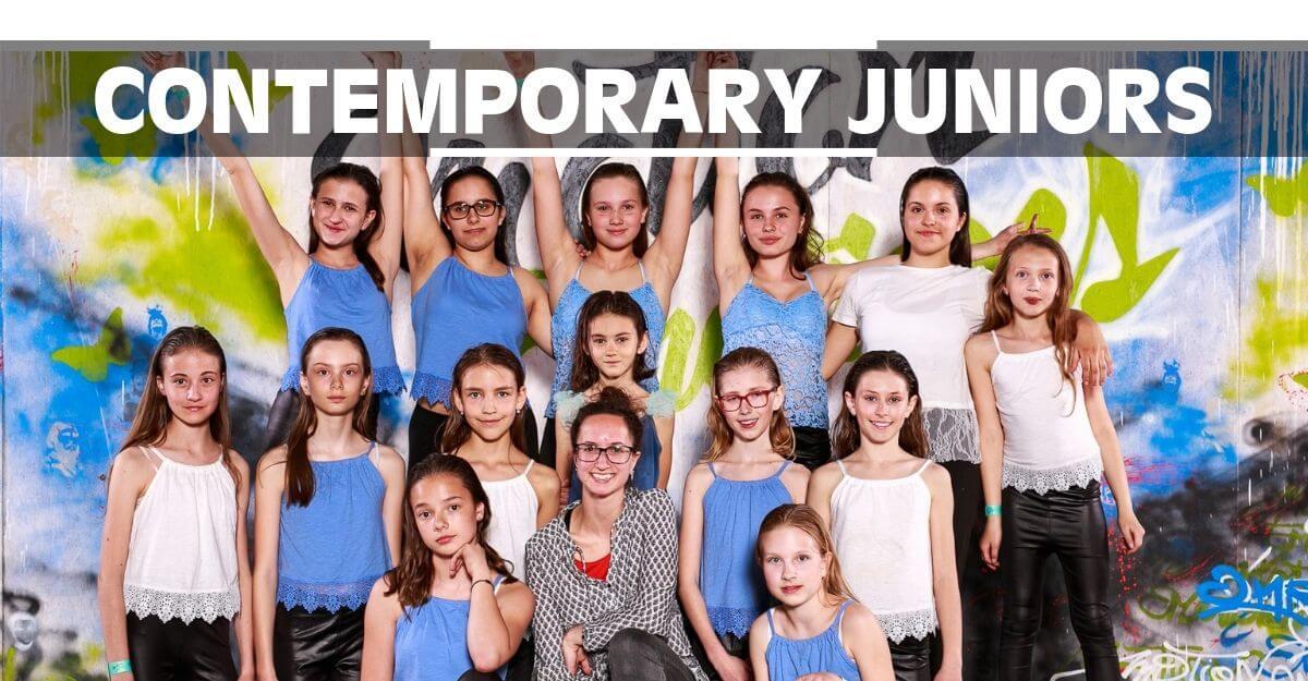 Contemporary Juniors | Taneční kurz Contemporary Dance pro teenagery, holky a kluky ve věku 13, 14, 15 a 16 let v Olomouci. Moderní tanec, jazz dance, balet, lyrický tanec, atd.