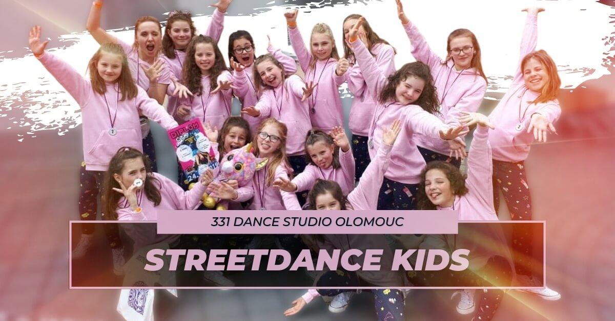 Taneční kroužek Streetdance Kids | 331 Dance Studio Olomouc
