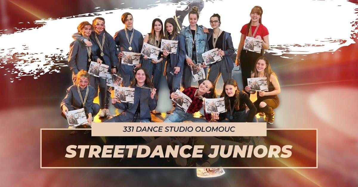 Taneční kurz Streetdance Juniors | 331 Dance Studio Olomouc