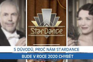 5 důvodů, proč nám StarDance bude v roce 2020 chybět