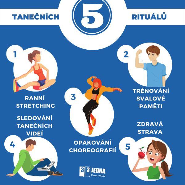 5 tanečních rituálů na každý den