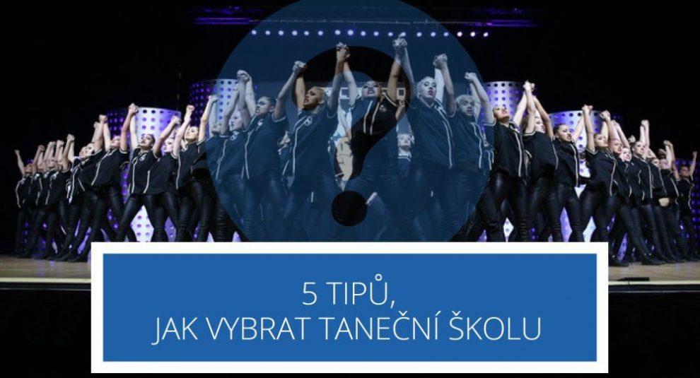 5 tipů, jak vybrat taneční školu pro sebe nebo své dítě