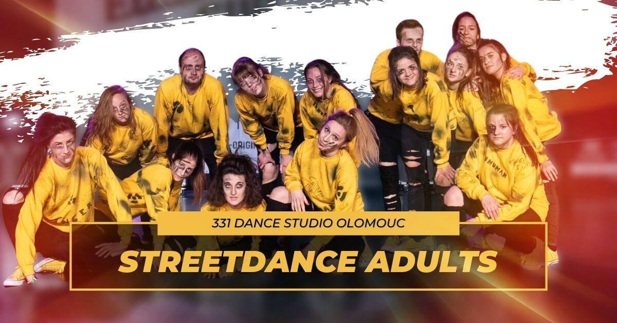 Taneční kurz Streetdance Adults | 331 Dance Studio Olomouc