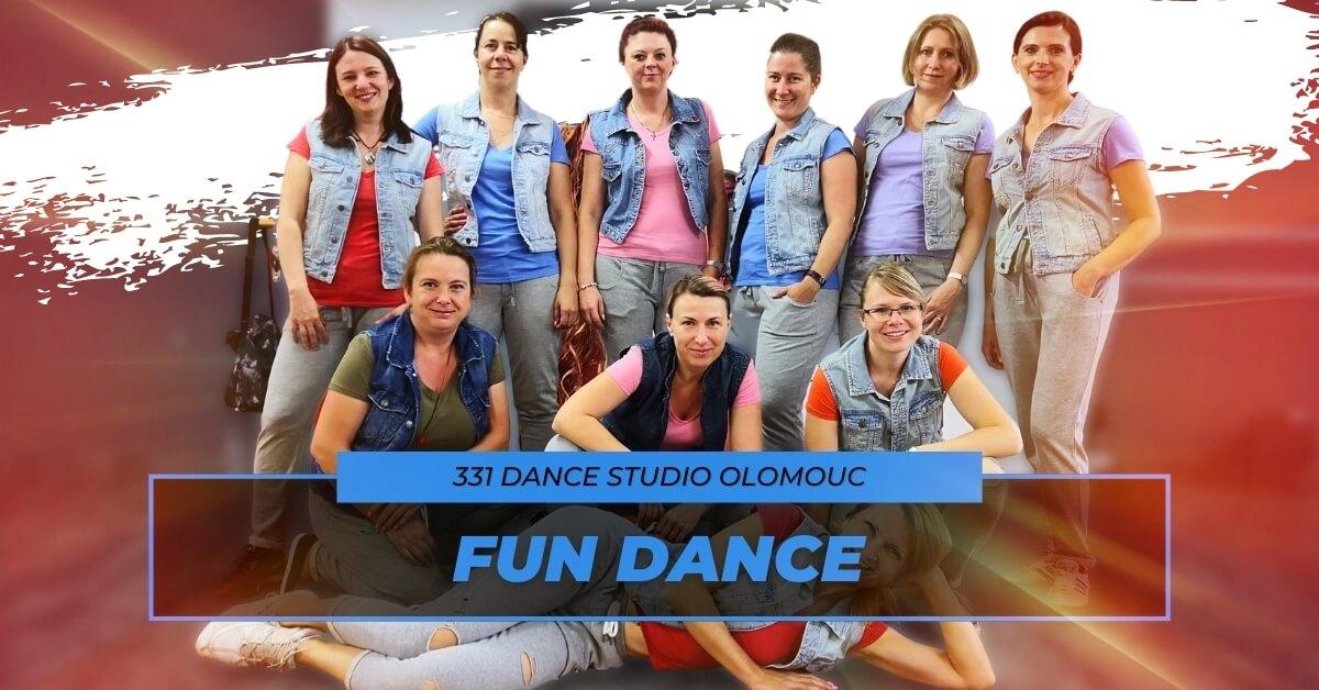 Taneční kurz Fun Dance | 331 Dance Studio Olomouc