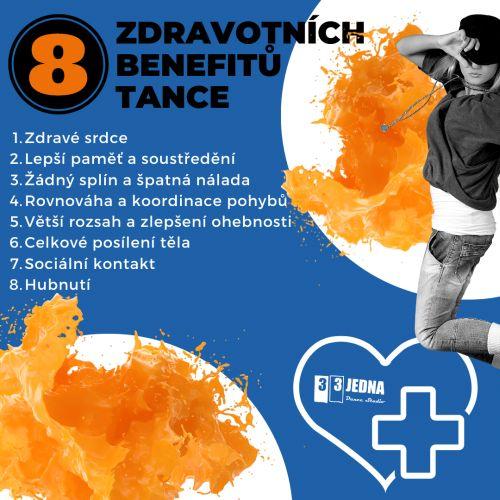 8 zdravotních benefitů tance | 331 Dance Studio Olomouc