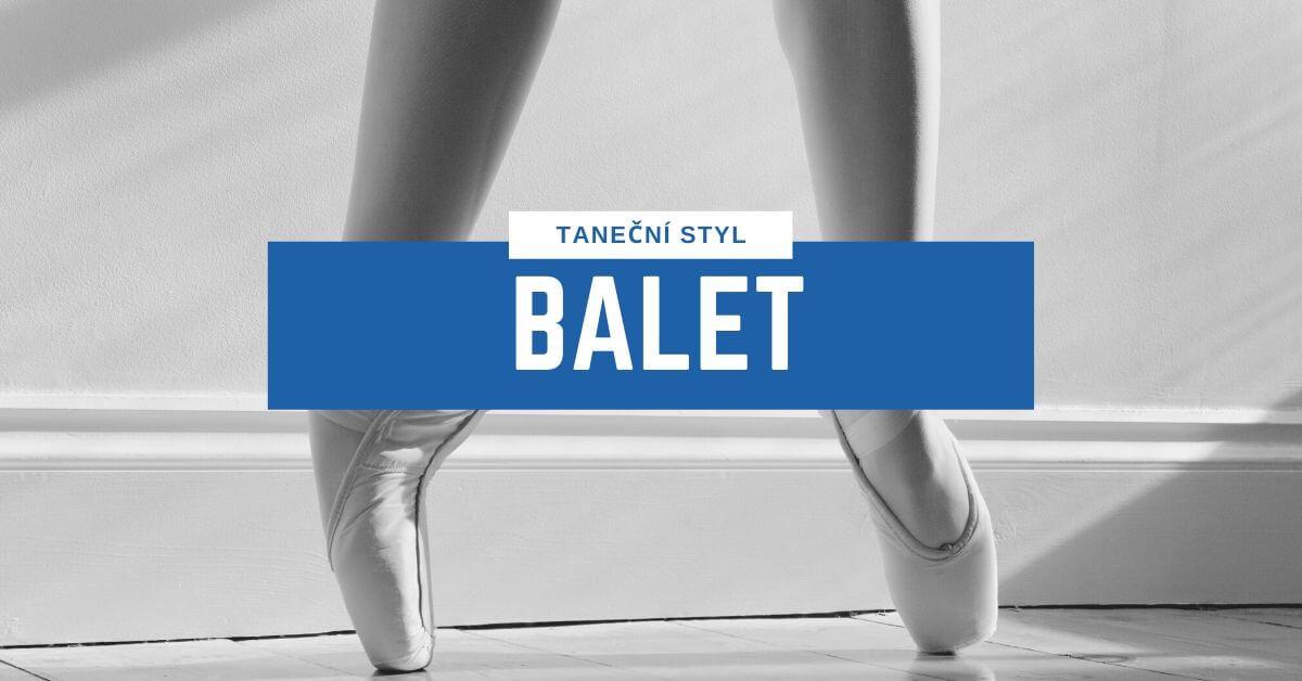Taneční styl Balet | 331 Dance Studio Olomouc