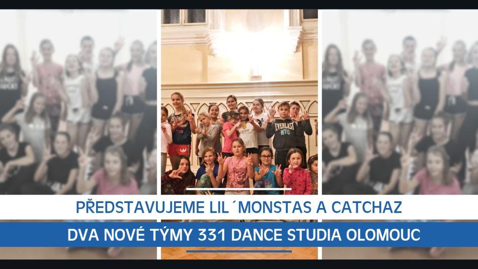 Představujeme Lil´Monstas a Catchaz, dva nové taneční týmy 331 Dance Studia