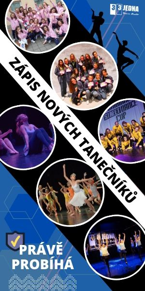 Zápis nových tanečníků do 331 Dance Studia Olomouc