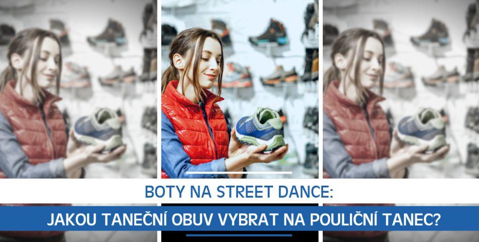 Boty na Street Dance: Jakou taneční obuv vybrat na pouliční tanec?