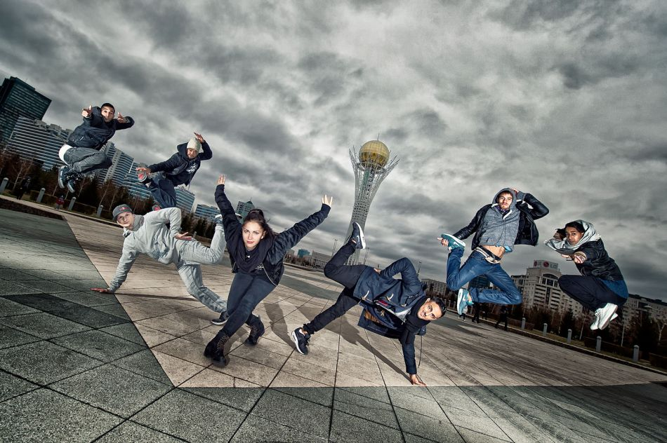 Flying Steps | foto: Red Bull