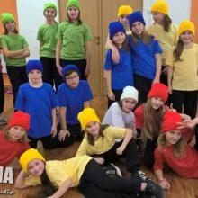331 Dance Studio Olomouc | Děti z kurzu Streetdance Kids před první soutěží
