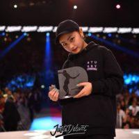 Juste Debout 2018: Vítězka Junior Dance Tour: Miyu (JPN)