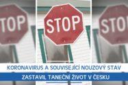 Koronavirus a související nouzový stav zastavil taneční život v Česku