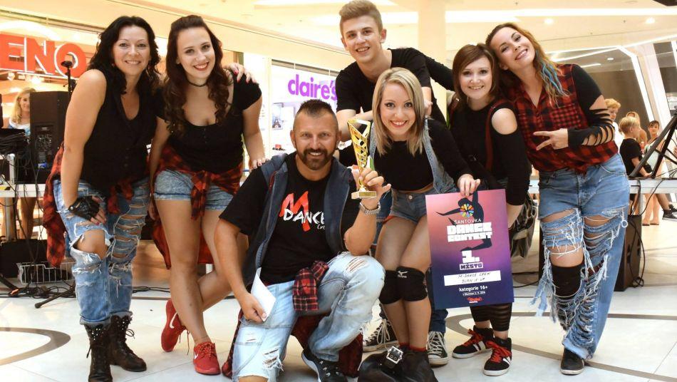 M-Dance Crew Kroměříž - 1. místo Šantovka Dance Contest