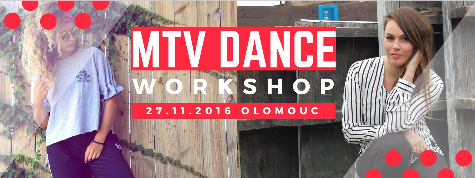 MTV Dance Workshop | 27.11.2016 v 331 Dance Studiu Olomouc