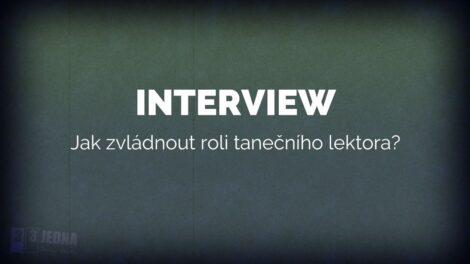 [INTERVIEW] Jak zvládnout roli tanečního lektora? | 331 Dance Studio Olomouc
