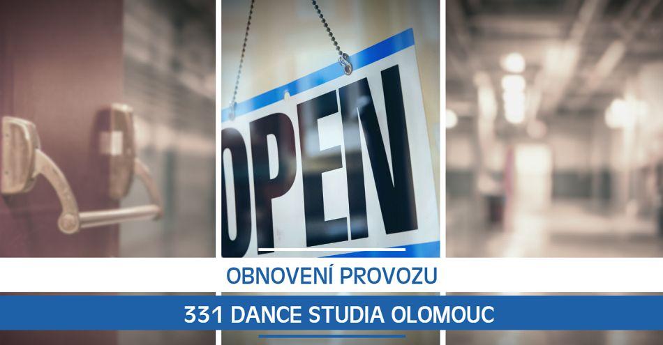 Obnovení provozu 331 Dance Studia Olomouc