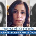 Tanečnice měsíce září Leňa: Každá naše choreografie je úplně jiná
