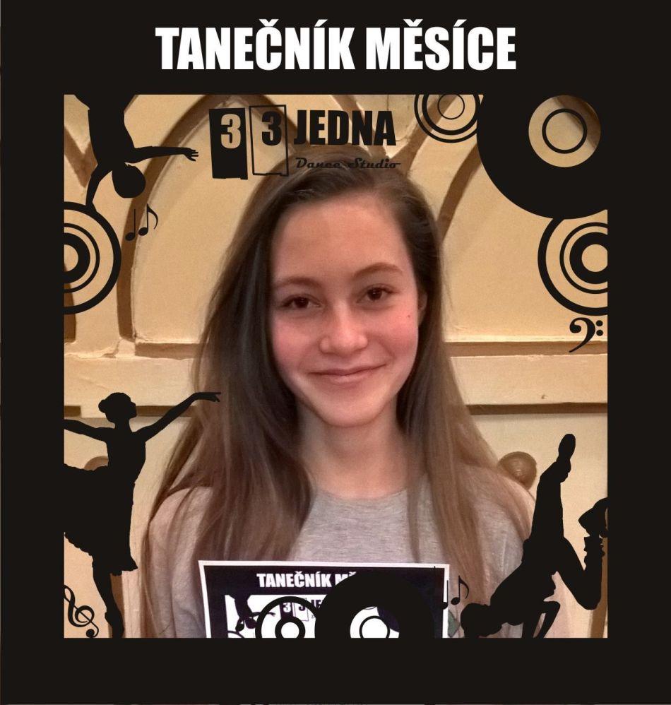 Tanečník měsíce října 2016 v 331 Dance Studiu Olomouc: Maki z tanečního kurzu Streetdance Juniors