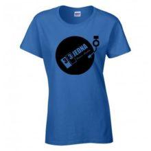 331 tričko dámské modré