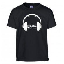 331 tričko dětské černé