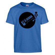 331 tričko dětské modré