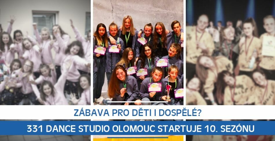 Zábava pro děti i dospělé? 331 Dance Studio Olomouc startuje 10. sezónu